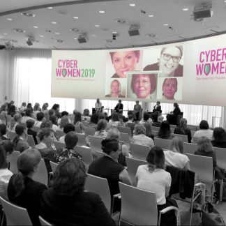 Cyberwomen 2019: Foto der Bühne
